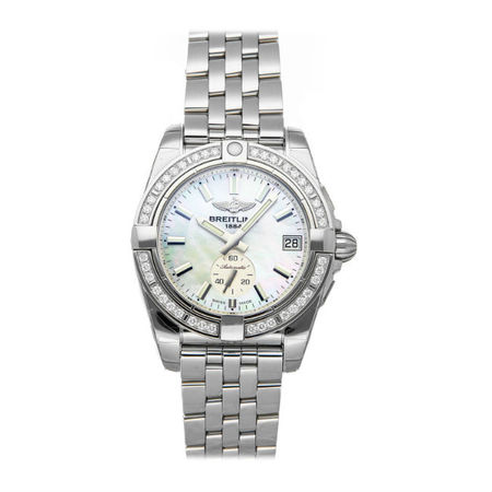 Breitling Galactic 36mm A3733053-A788 Stainless Steel Women's Watch