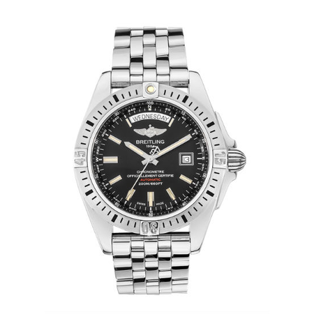 Breitling Galactic 44mm A453201A/BG10 Stainless Steel Men's Watch
