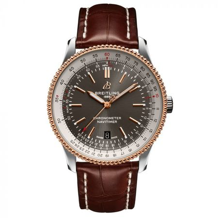 Breitling Navitimer 42mm U173265A1M1P1 18K Rose Gold/Stainless Steel Men's Watch