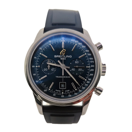 Breitling Transocean 38mm A41310 Stainless Steel Men's Watch