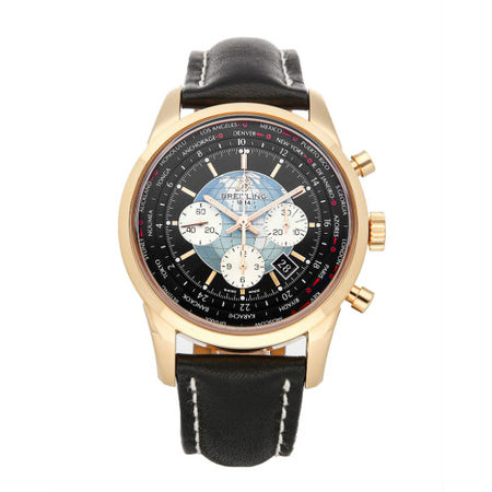 Breitling Transocean Chronograph 46mm RB0510U4/BB63 18K Rose Gold Men's Watch
