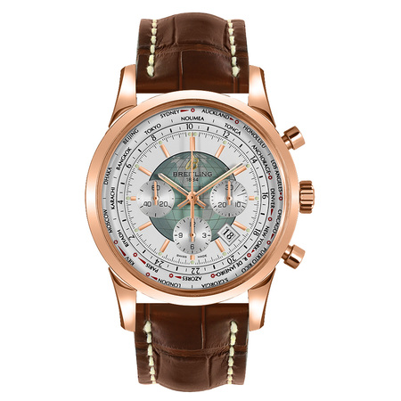 Breitling Transocean Chronograph 46mm RB0510U0/A733 18K Rose Gold Men's Watch