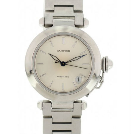 Cartier Pasha 35mm 2324 Stainless Steel Unisex Watch