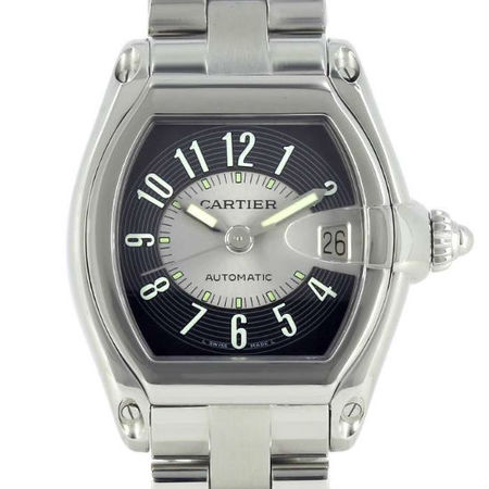 Cartier Roadster 38mm 2510 Stainless Steel Men's Watch