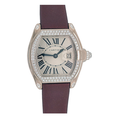 Cartier Roadster 30x36mm 2723 18K White Gold Men's Watch