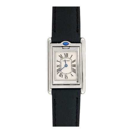 Cartier Tank Basculante 22mmx32mm W1011158 Stainless Steel Women's Watch