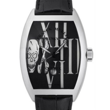 Franck Muller Casablanca 46mm 9880 SC DT GOTH Stainless Steel Men's Watch