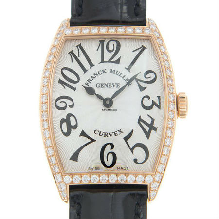 Franck Muller Master of Complications 30x42mm 2852 QZ D 1R 18K Rose Gold Men's Watch