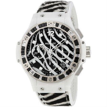 Hublot Big Bang Zebra 41mm 341.HW.7517.VR.1975 Stainless Steel Unisex Watch Limited to 250