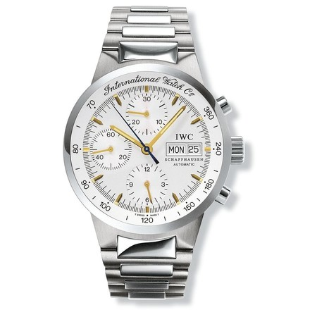 IWC GST Chronograph 39.7 3707-13 Stainless Steel Men's Watch