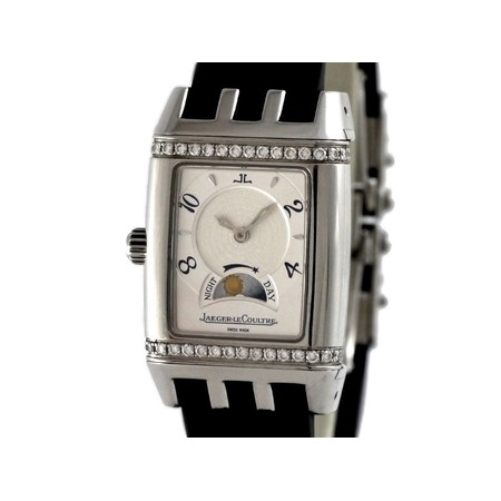 Jaeger-LeCoultre Reverso 39X25mm 296.8.74 Stainless Steel Men's Watch