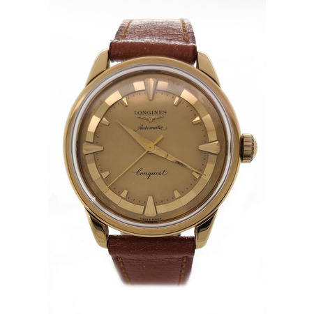 Longines Conquest 35mm 90013 18K Yellow Gold Men's Watch