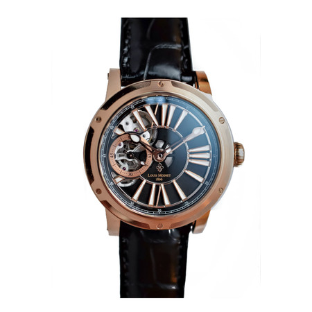 Louis Moinet Metropolis 43.2 LM-45.50.55 18K Rose Gold Men's Watch