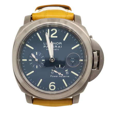 Panerai Luminor 43mm Power Reserve Titanium Men's Watch