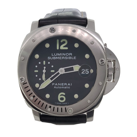 Panerai Luminor Submersible 44mm PAM00024 Stainless Steel Men's Watch