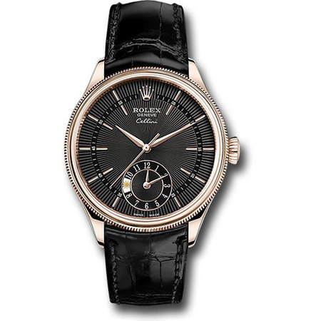 Rolex Cellini 39mm 50525 18K Rose Gold Men's Watch