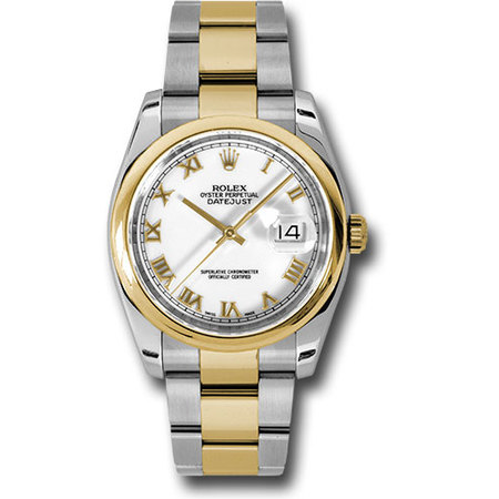 Rolex Datejust 36mm 116203 18K Yellow Gold/Stainless Steel Men's Watch