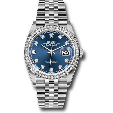 Rolex Datejust 36mm 126284 Stainless Steel Men's Watch