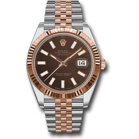Rolex Datejust 41mm 126331 18K Rose Gold/Stainless Steel Men's Watch