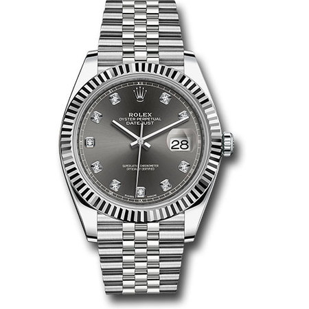 Rolex Datejust 41mm 126334 Stainless Steel Men's Watch