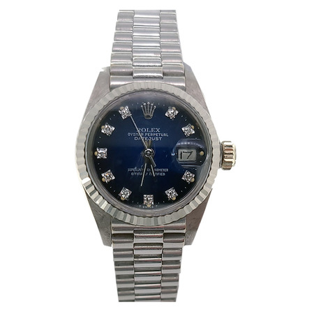 Rolex Datejust 26mm 6917 18K White Gold Women's Watch