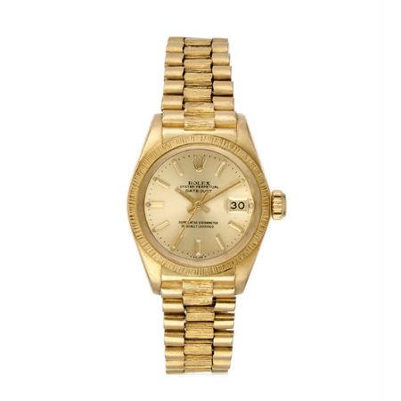 Rolex Datejust 26mm 6927 18K Yellow Gold Women's Watch