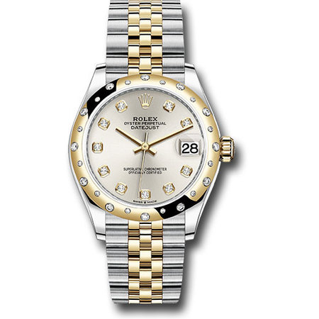 Rolex Datejust 36mm 278343RBR 18K Yellow Gold/Stainless Steel Women's Watch