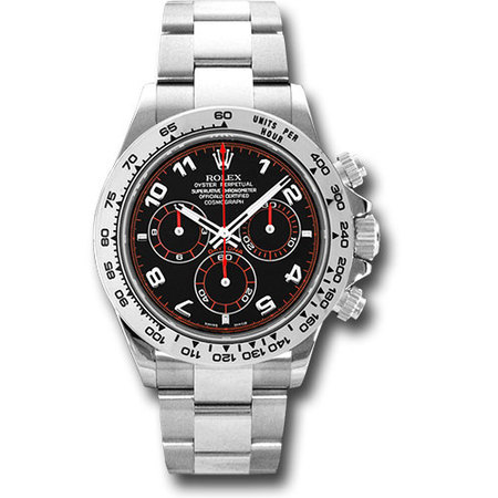 Rolex Daytona 40mm 116509 18K White Gold Men's Watch
