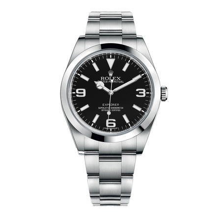 Rolex Explorer 38mm 214270 Stainless Steel Men's Watch