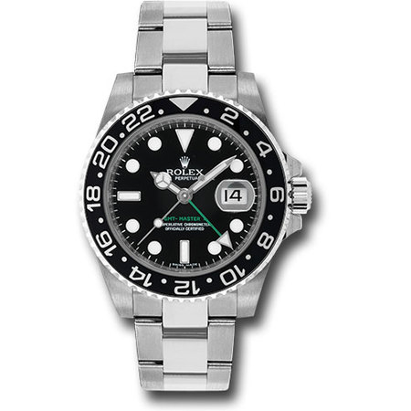 Rolex Gmt-Master II 40mm 116710LN Stainless Steel Men's Watch