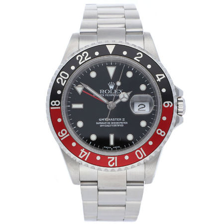 Rolex GMT-MASTER II 40mm 16710 Stainless Steel Men's Watch