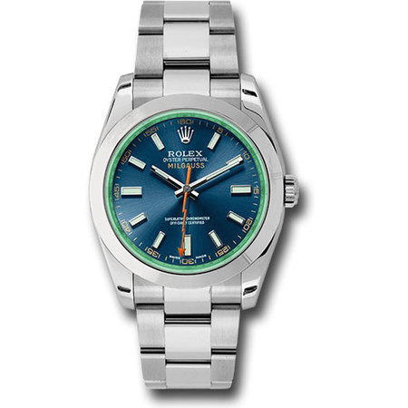 Rolex Milgauss 40mm 116400GV Stainless Steel Men's Watch