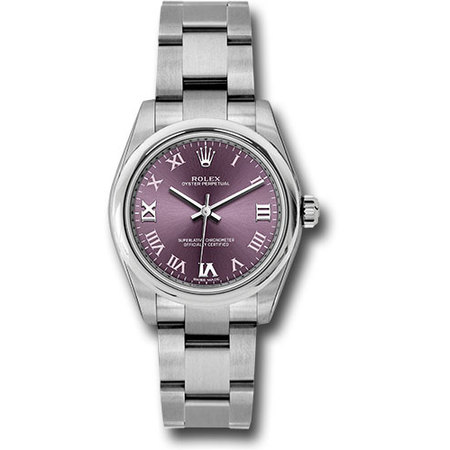 Rolex Oyster Perpetual 31mm 177200 Stainless Steel Women's Watch