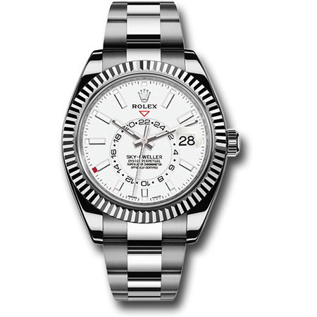 Rolex Sky-Dweller 42mm 326934 Stainless Steel Men's Watch