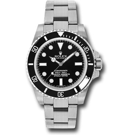 Rolex Submariner 40mm 114060 Stainless Steel Men's Watch