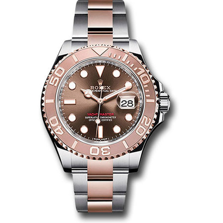 Rolex Yacht Master 40mm 116621 18K Rose Gold/Stainless Steel Men's Watch