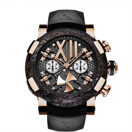 Romain Jerome Steampunk Chrono 50mm RJ.T.CH.SP.003.01 Rose Gold PVD Stainless Steel Men's Watch