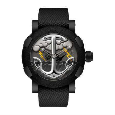 Romain Jerome Tattoo 50mm RJ.T.AU.TT.002.01 PVD Men's Watch