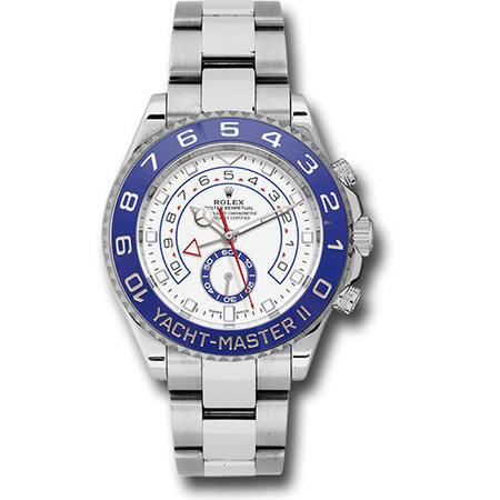 Yacht Master II 44MM 116680 Stainless Steel Men's Watch